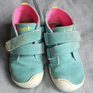 Plae Lou Suede Teal Bootie Hi-Top Shoe size 10
